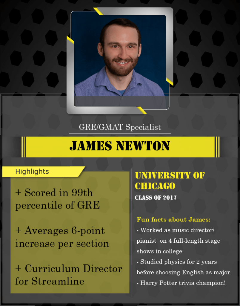 james newton GRE specialist